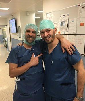 A Ginevra con Dr. Läderman: chirurgia della spalla protesica artroscopia.